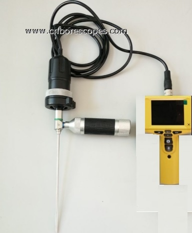 COST-EFFECTIVE Rigid borescope with Magnifier